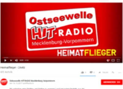 Screenshot vom Ostseewelle Video auf youtube